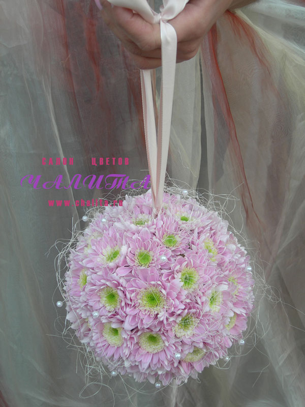 Отличные букеты из хризантем и