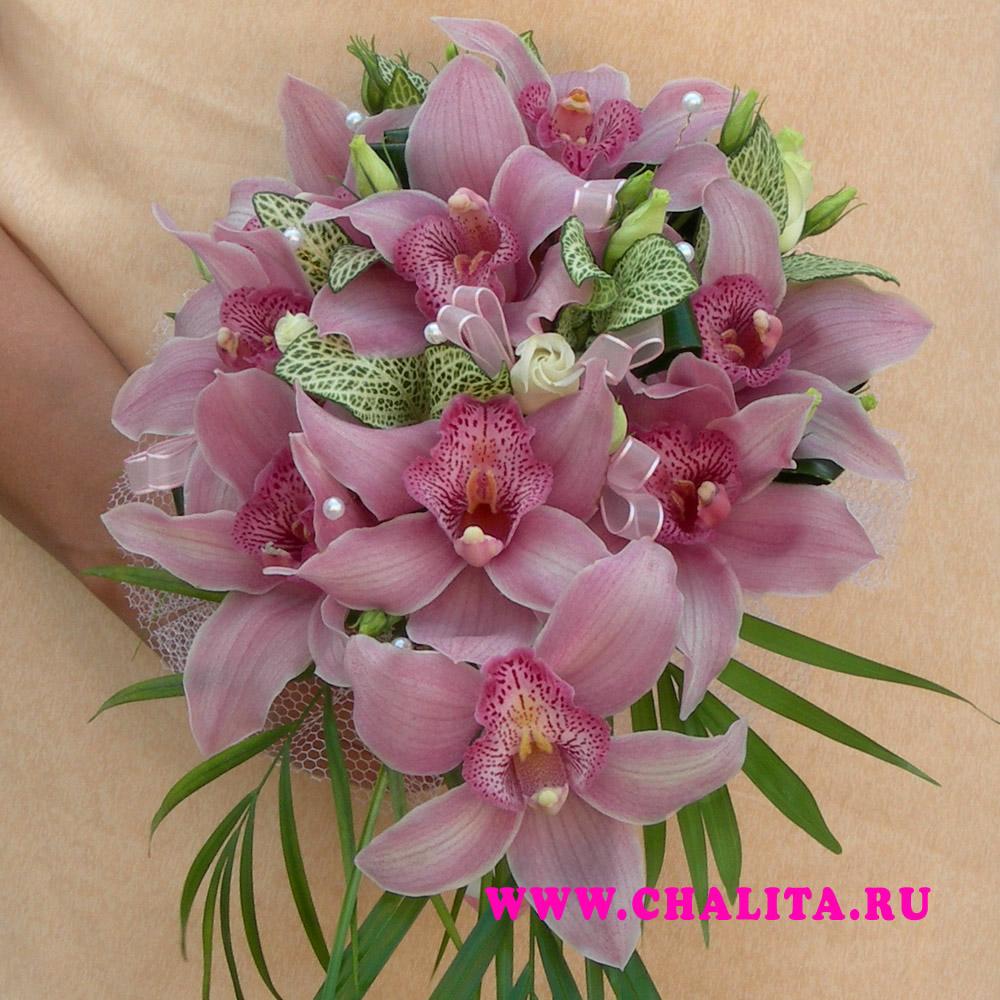 Wedding Saloon :: свадебный букет из орхидей - Свадебные платья и