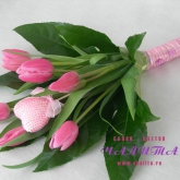 Bouquet «Pink Slavery»