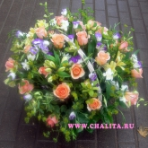 Basket «Flower Sharm» Price: 179 USD