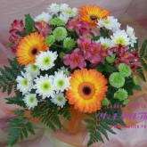 Bouquet «Orange gerberas»