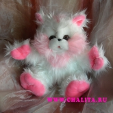 A soft toy is an addition to a bouquet. Price: 13 USD