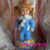 Doll with sound device - addition to the flowers Price: 14 USD