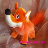 A toy «Fox» is a nice addition to a bouquet. Price: 10 USD